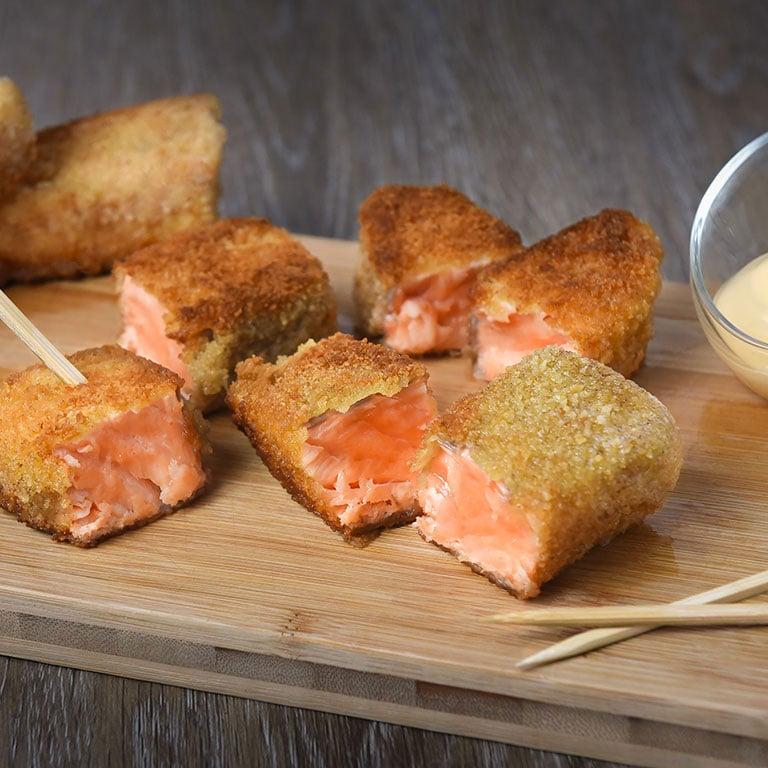 Croustillant de saumon