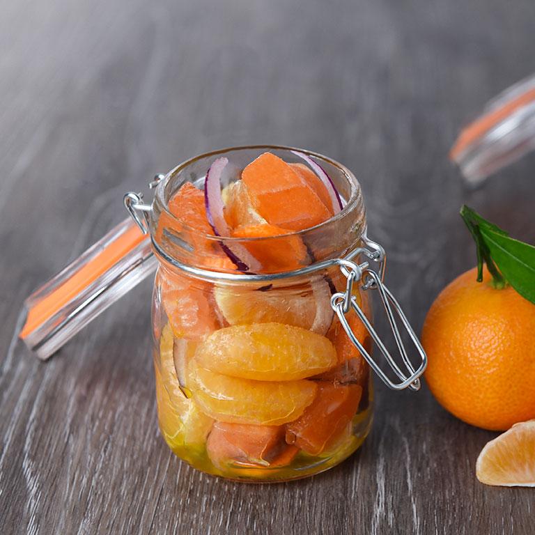 Saumon à la mandarine