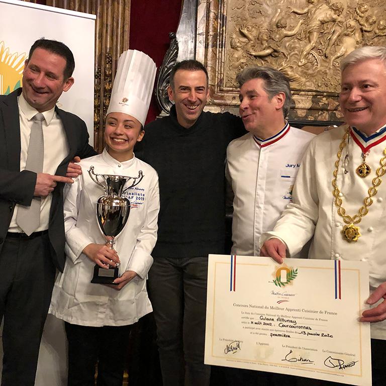 Participation du Saumon Ecossais Label Rouge à la finale du concours des maîtres cuisiniers de France