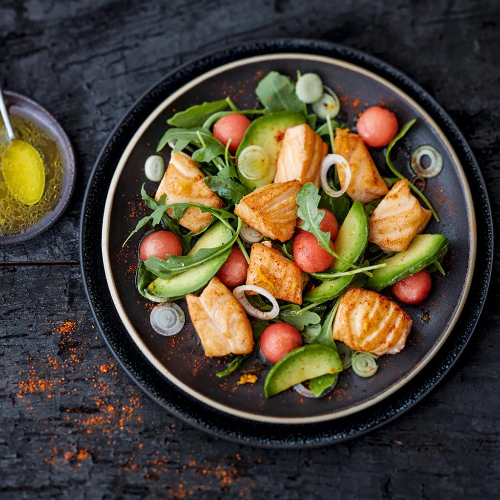 Salade-saumon-avocat