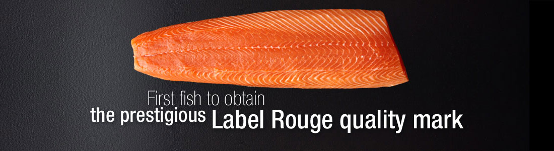 First fish to obtain the prestigious Label Rouge quality mark