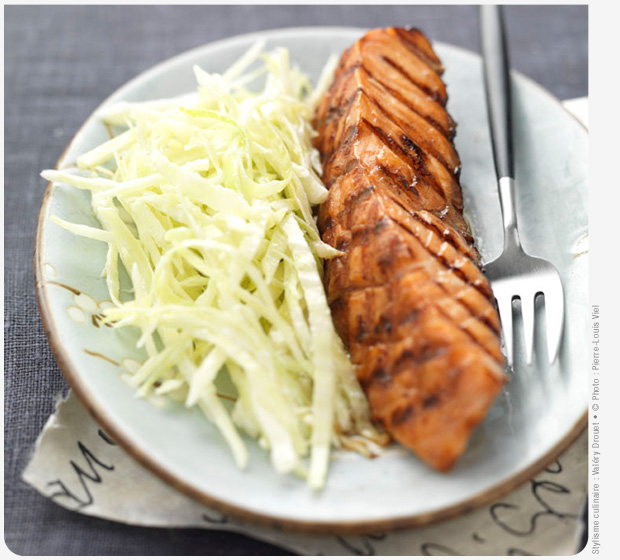 Teriyaki-Filets von schottischem Lachs Label Rouge