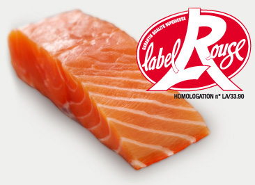Präsentation des roten Labels