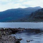 Landscape of Scotland showing aquaculture