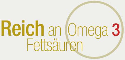 Reich an omega 3